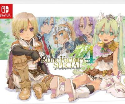 Rune Factory 4 Special reveals Japanese limited edition set