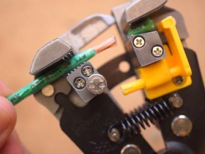 The Handy Automatic Wire Stripper Is A Must For Electrical Projects