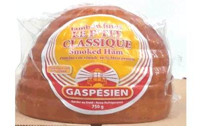 Gaspésien brand ham, pork recalled after Listeria testing
