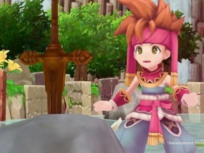 Secret of Mana Debuts in 2nd on the Japanese Charts