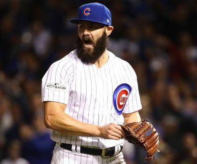 Cubs stay alive thanks to Arrieta gem and two blasts by Baez