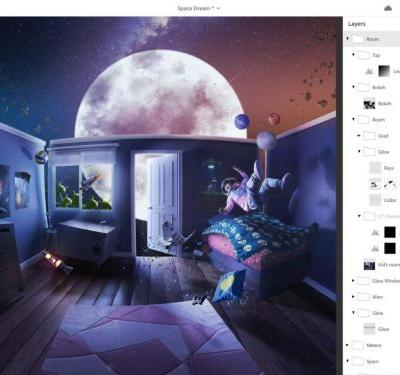 The full Photoshop CC is coming to the iPad in 2019