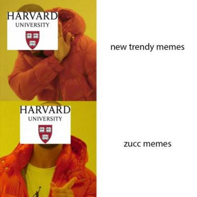 Mark Zuckerberg joined a private Facebook group for Harvard memes and group members are loving it
