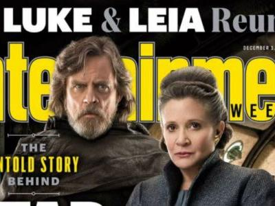 The Last Jedi EW Covers Tease An Episode That Changes the Saga