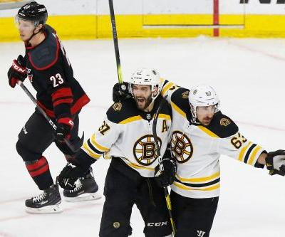 Boston Bruins sweep Carolina Hurricanes to advance to Stanley Cup Final