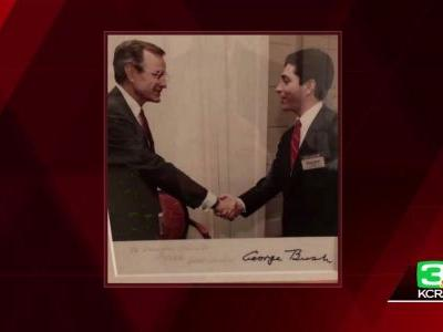 President George H.W. Bush remembered as humble civil servant