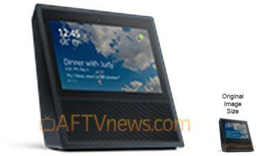 This could be Amazon's Echo with a built-in display