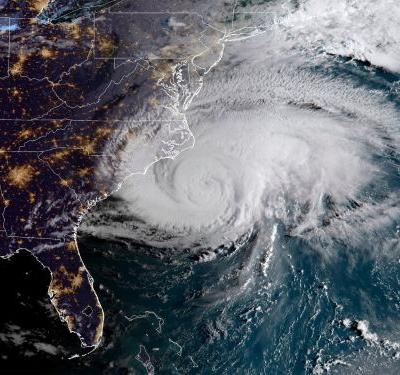 Hurricane Florence is starting to hit the Carolinas, bringing winds up to 105 mph - here's how it compares to other destructive storms in US history