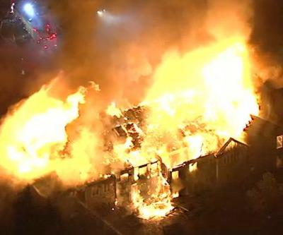 At least 20 injured in massive fire at senior living community