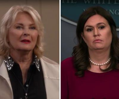 Sarah Huckabee Sanders Made A Surprise Cameo On 'Murphy Brown'. Or Did She?