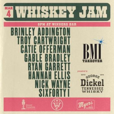 Events: BMI Takeover Whiskey Jam: Nashville