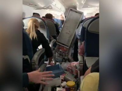 Commercial flight forced to make emergency landing after severe turbulence