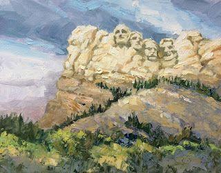 MOUNT RUSHMORE by TOM BROWN