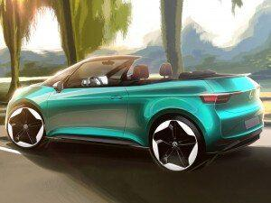 Volkswagen ID3 Convertible Previewed Should It Become A Reality
