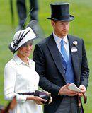 There's a Very Simple Reason Why Meghan Markle Didn't Wear Her Name Badge at Ascot
