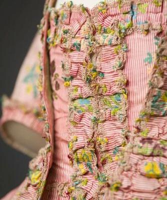 Up Close: Robe à la française, c.1760-1770