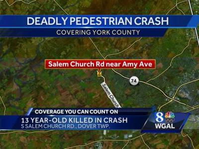 Middle school student hit, killed by minivan