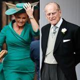 Phew, That Was Close! Prince Philip and Sarah Ferguson Just Barely Avoid Each Other at Eugenie's Wedding