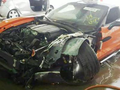 This Ruined Corvette Grand Sport Was Wrecked After Just 15 Miles