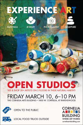 Cornelia Arts Building March Open Studios