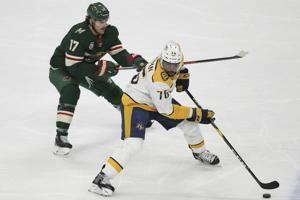 Johansen scores in shootout, Predators beat Wild 3-2
