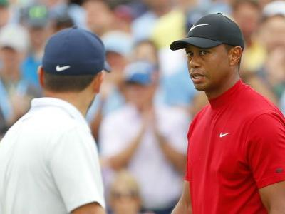 Masters 2019: Francesco Molinari opens door for Tiger Woods by finding water at 12