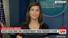 White House Bans CNN Reporter Who Asked Trump About Cohen And Putin