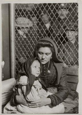 Italian Mother & Child by Lewis W. Hine, 1905