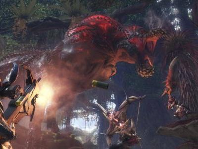 Next Monster Hunter: World Update Adds Deviljho, Mega Man Weapon, and More