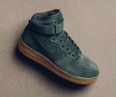 "Nike Air Force 1 High Gets Decked out In ""Vintage Green"""