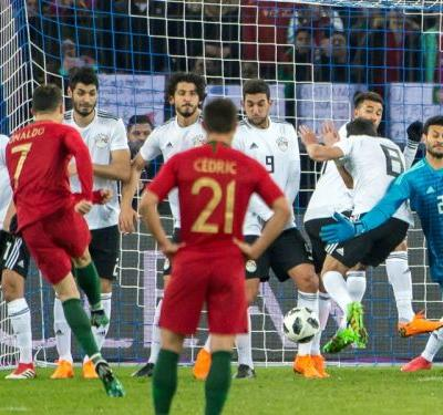 Portugal 2 Egypt 1: Late Ronaldo double stuns Salah-inspired Pharoahs