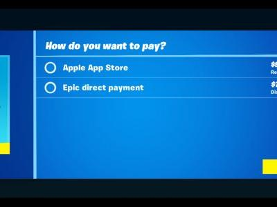 Apple Yanks 'Fortnite' from the App Store Following Epic's Payment Bypassing Stunt