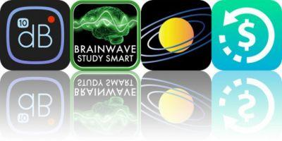 Today's Apps Gone Free: Decibel 10th, Brain Wave Study Smart, Universe Simulator and More