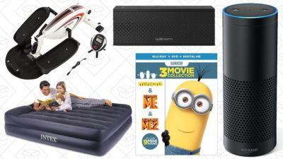 Today's Best Deals: Amazon Echo, Multi-Room Speaker, Minions Sale, and More