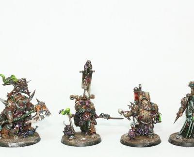 WIP: Death Guard Apostles of Contagion 3