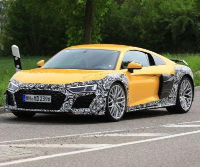 Slightly Revamped Audi R8 Spotted Testing