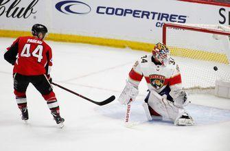 Pageau converts OT penalty shot to lift Sens over Panthers