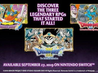 Dragon Quest Collection Coming West On September 27