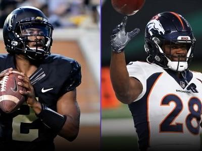 Fantasy Injury Updates: With Broncos QBs out, WR Kendall Hinton and RB Royce Freeman loom as potential Week 12 sleepers