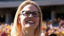 Democrat Kyrsten Sinema Becomes Arizona's First Female Senator