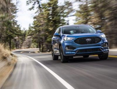 The New Ford Edge ST Aims to Be the Sharpest Edge Yet