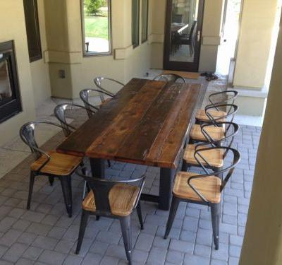 27 Unique Narrow Outdoor Dining Table Graphics