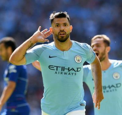 Chelsea 0 Manchester City 2: Aguero reaches milestone in Community Shield triumph