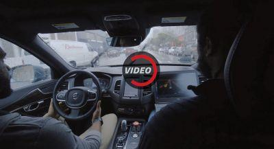 This Is What A Self-Driving Ride Is Like In One Of Uber's Volvos