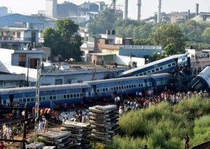 Utkal Express train derailment in India kills 23 and more than 200 injured