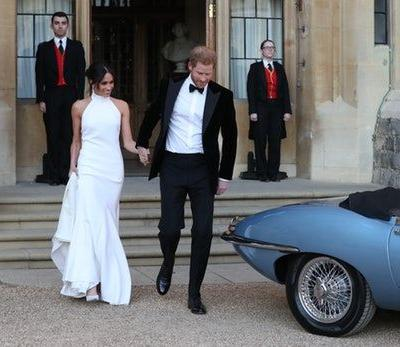 Meghan Markle & Prince Harry's Evening Wedding Reception Was A Rager & The FOMO Is Real
