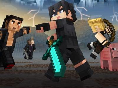 Noctis and pals are heading to Minecraft with a Final Fantasy XV skin pack