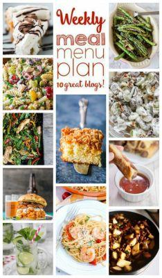 Easy Meal Plan Week 106