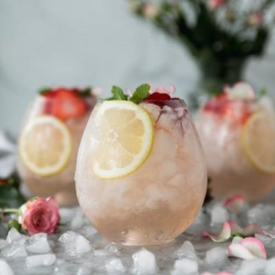 Rosé Elderflower Sangria