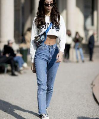 Just When You Thought They Were Over, Crop Tops Are Having a Major Mome at MFW